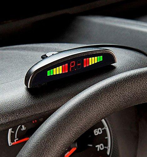 Preisvergleich Produktbild Lescars PA-240 Rückfahrhilfe Einparkhilfe Rückfahrwarner zum Nachrüsten