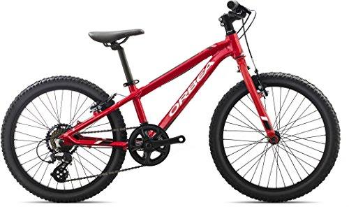 Orbea MX 20 DIRT Kinderrad MTB, 7-Gang 20\'\', Farbe:rot-weiss