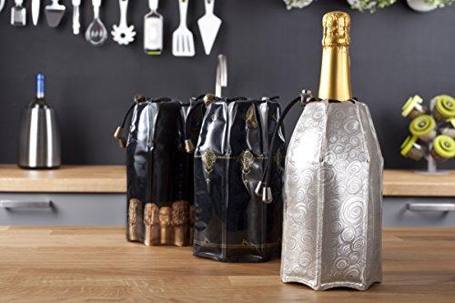 Vacu Vin 38855626 Aktiv Champagnerkühler Motiv Platin