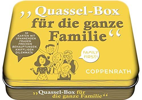 Quassel-Box Größe