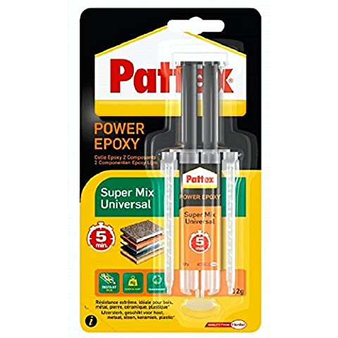 Pattex - 1476719 - Colle Epoxy Universal Seringue - Transparente