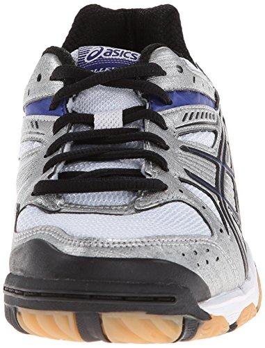 Asics Gel-1150V Synthétique Baskets Silver-Royal-Black