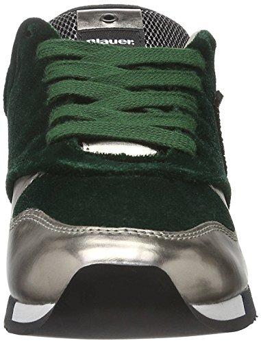 Blauer USA Worunori, Baskets Basses Femme Vert - Vert