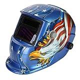 AIMENTE Elettrico Casco Saldatura maschera di saldatura Solar Energy automatico Rettifica Mask