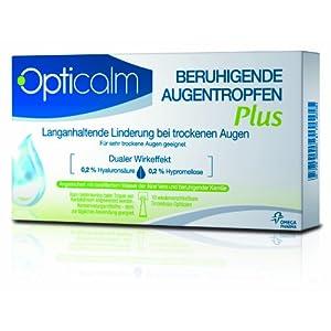 Opticalm Augentropfen Plus,10 x 0.5 ml, 1er Pack (1 x 5 ml)