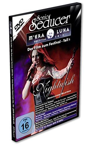 M'Era Luna 2015 - Der Film, Teil 1 auf DVD mit exkl. Live-Videos + Sonic Seducer 12-2015 + Rammstein Special + 4 Postkarten, Bands: Placebo, Marilyn Manson, Blutengel, Nightwish u.a.