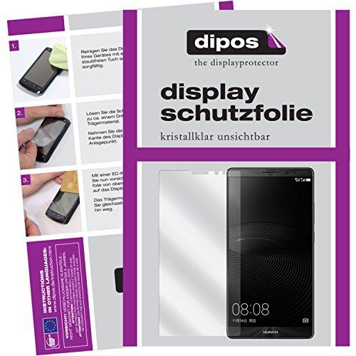 dipos I 6X Schutzfolie klar passend für Huawei Mate 8 Folie Bildschirmschutzfolie