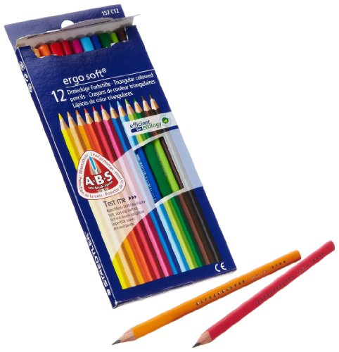 Staedtler 61 SET10 Farbstifte Ergo Soft Bonuspack 12 verschiedene Farben + 2 Bleistifte