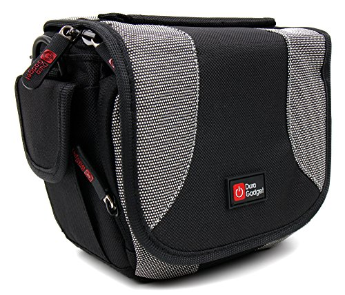 duragadget-portable-camera-case-with-padded-interior-multiple-pockets-and-shoulder-strap-for-veho-vc