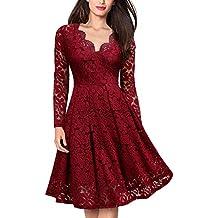 Amazon.it  Vestiti Eleganti o Abbigliamento di moda per donna  abiti ... 554182e9dcb