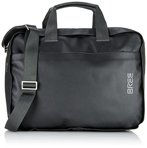 BREE Unisex-Erwachsene Punch 67 Laptop Tasche Schwarz (Black)
