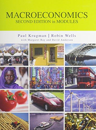 Macroeconomics in Modules, Econportal Access Card (6 Month) & Study Guide (Krugman Macroeconomics In Modules)
