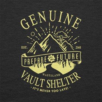 Texlab–Genuine Vault Shelter–sacchetto di stoffa Nero
