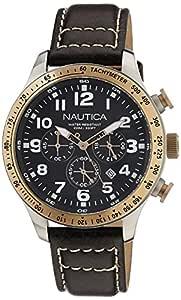 Nautica Chronograph Black Dial Men's Watch - NTA16593G