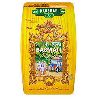 Badshah Basmati Rice 10 kg (B00432JB9M) | Amazon price tracker / tracking, Amazon price history charts, Amazon price watches, Amazon price drop alerts