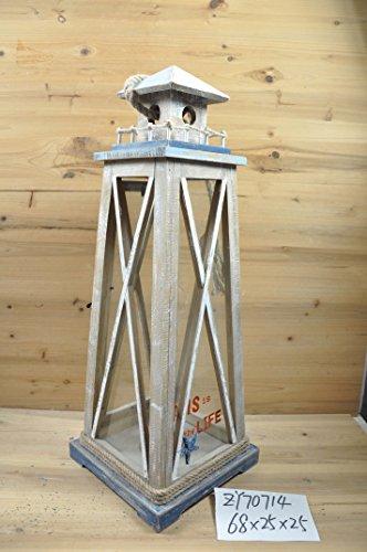Laterne Nautica Leuchtturm groß -