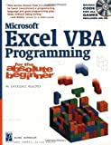 Microsoft Excel VBA Programming for the Absolute Beginner (Absolute Beginners) Book & CD Edition by Vine, Michael published by Premier Press (2002)