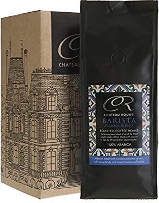 Chateau Rouge Espresso Coffee Bean, Espresso Coffee Beans Arabica Gift Set by Chateau Rouge Fine Foods