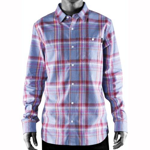 Camicia da uomo Emerica Ludlow Shirt LS - Blu polveroso