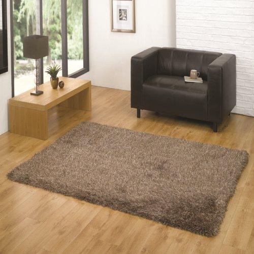Santa Cruz Summertime Beige Mix Moderner Teppich Fab Tiefe und Textur Polyester 80cm x 150cm -