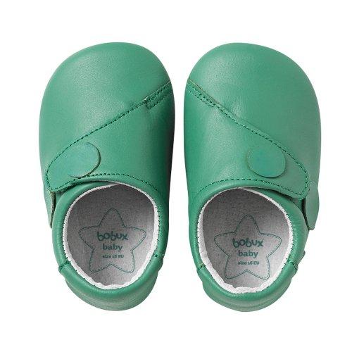 Bobux 460673, Chaussures souples mixte enfant vert (apple)