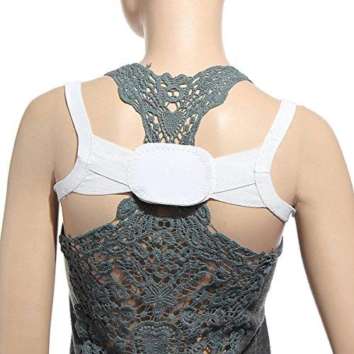 CAMTOA Rückenbandage Rückenhalter Rücken Geradehalter Haltungskorrektur Schulter Band für eine richtige Körperhaltung