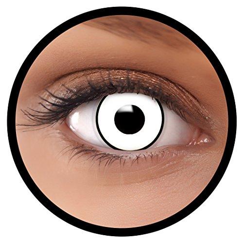 FXEYEZ® Farbige Kontaktlinsen weiß
