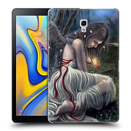 (Head Case Designs Offizielle Tiffany Tito Toland-Scott Gefallener Engel Mit Weißen Feder Gotik Kunst Ruckseite Hülle für Samsung Galaxy Tab A 10.5 (2018))