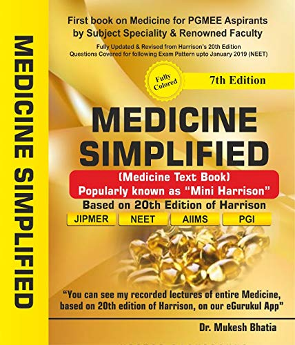 MEDICINE SIMPLIFIED BY DR  MUKESH BHATIA