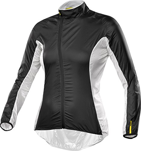 Mavic Cosmic Pro Jacket W, color blanco,negro, talla XL