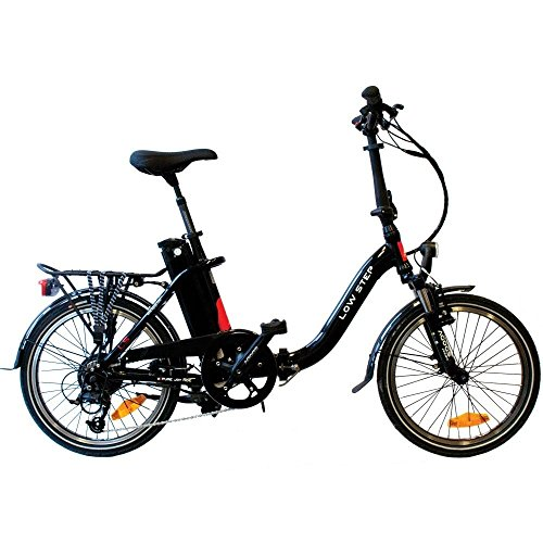 AGOGS LowStep 20 Zoll Elektrofahrrad faltbares Cityrad mit Alurahmen Bafang Motor H-type, 36V/250W (500W max) SONY Konion V3 Hi-power 36V/14,5Ah 530Wh Akku MicroSHIFT DS85 7 Gang Schaltung E-Bike Pedelec Elektronische Fahrrad Motor