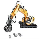 LaDicha Double Eagle E561-001 1/16 17Channel Costruzione Escavatori Di Leghe Per Auto Rc Giocattoli
