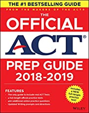 The Official ACT Prep Guide, 2018–19 Edition (Book + Bonus Online Content)