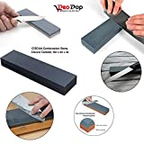 #9: CSSC109 Combination Stone, Silicone Carbide, 150 x 50 x 25 Sharpening Stone Perfect for Both Knives and Tools | Knife Sharpener | Knife Sharpening Stone |