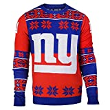 NFL Ugly Sweater/Pullover Christmas NEW YORK NY GIANTS Big Logo in MEDIUM (M)