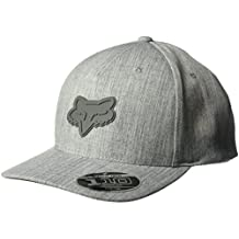 Gorra Snapback De Visera Curva Fox Heads Up 110 Graphite (Default , Gris)