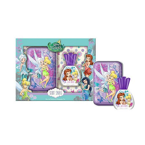Disney fairies secret wishes eau de toilette vaporizzatore and keepsake tin - 50 ml
