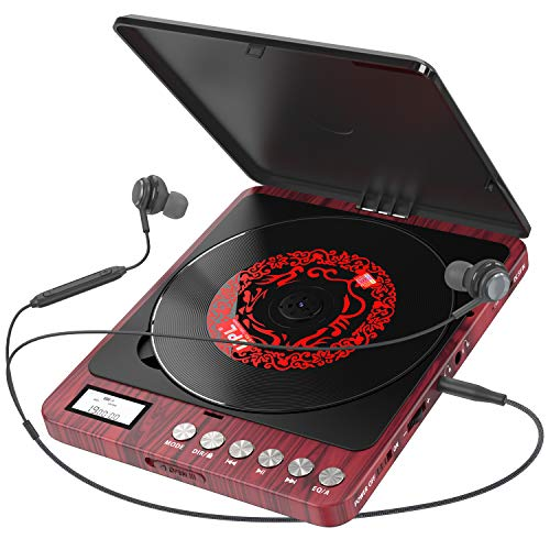 Portable CD Player, 1000mAh Pers...