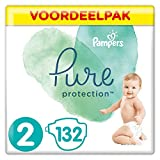 Pampers Pure Protection Maat 2 (4-8kg), 132 Luiers