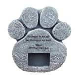 Keepbest Pet Dog Picture Tomba Memorials Stone Marker Placca Robusta per Interni ed Esterni C
