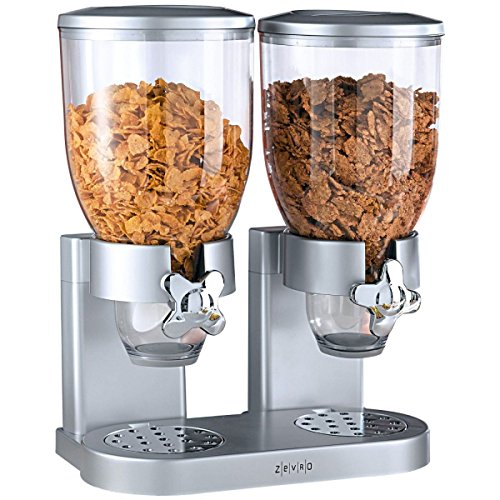 Müslispender Cerealienspender Doppelt Double 2 Behälter Je Ca. 3,5 Liter