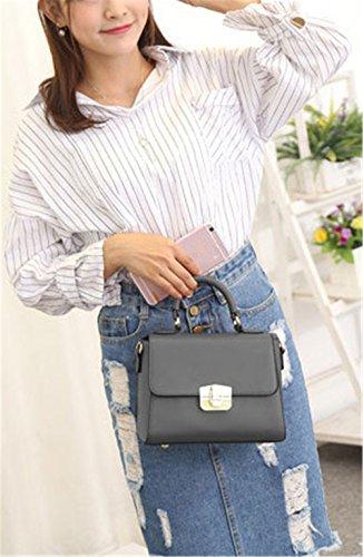 Xinmaoyuan borse Donna Summer Vacchetta Borsette Spiraea Confezione tracolla messenger bag,grigio Grigio