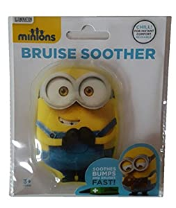 Disney Despicable Me Minions Bruise Soother Gel Pack for Bumps and Bruises