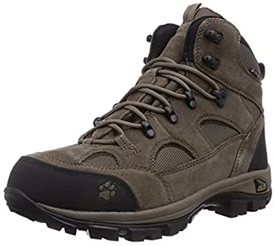 Jack Wolfskin All Terrain Texapore Men, Chaussures de Randonnée Hautes Homme - Beige (siltstone 5116), 40 EU