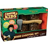 Insect Lore Camp Fire Kids WoodChopping Set
