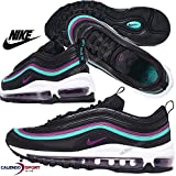 Nike Women's Air Max 97 Shoe, Scarpe da Ginnastica Basse Donna, Multicolore Bright Grape/Clear Emerald/Black 001, 39 EU