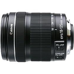 Canon EF-S 18-135mm f/3.5-5.6 IS STM Objectif 216 mm Noir