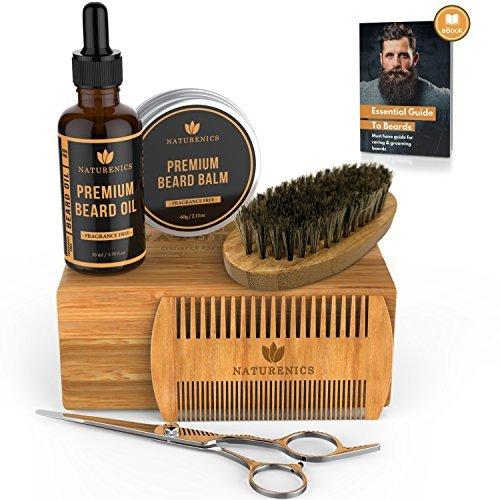 Naturenics Barbe Toilettage & Recadrage Kit pour hommes Soins des cheveux Unscented...