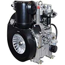 Hatz 2G40 20 HP motor diésel con 12 voltios iniciar