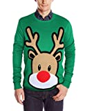 Ugly Christmas Pullover Sweater Rudolph RenKrawatter